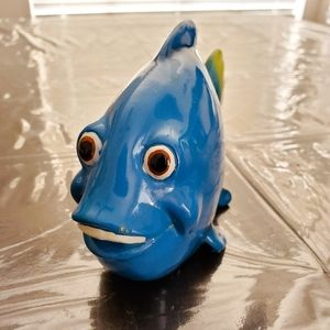 Blue Fish Figurine